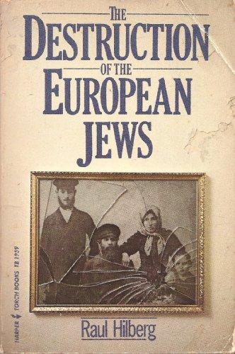 9780061319594: Destruction of the European Jews