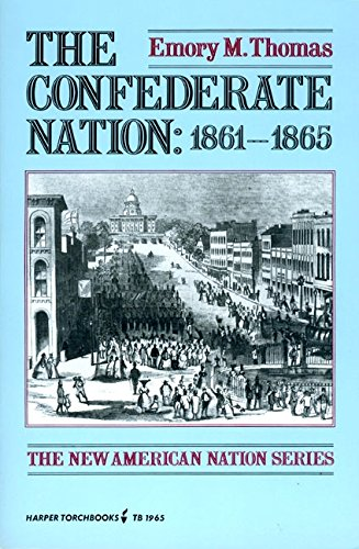 9780061319655: The Confederate Nation 1861-1865 (The new American nation series)