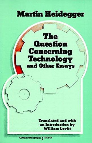 9780061319693: Question Concerning Technology and Other Essays