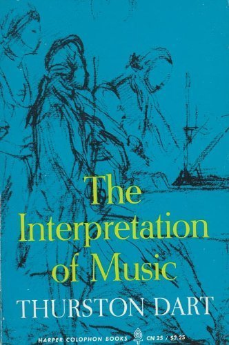 9780061319785: Interpretation of Music