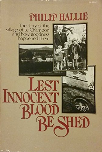 9780061320514: Lest Innocent Blood Be Shed