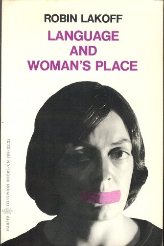 9780061320934: Language and Woman's Place