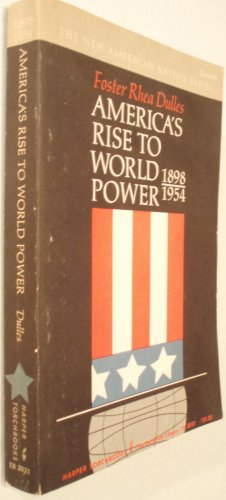 9780061330216: America's Rise to World Power, 1898-1954 (Torchbooks)