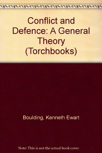 9780061330247: Conflict and Defence: A General Theory (Torchbooks)
