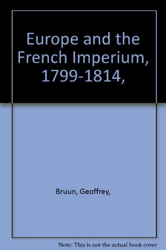 9780061330339: Europe and the French Imperium, 1799-1814,