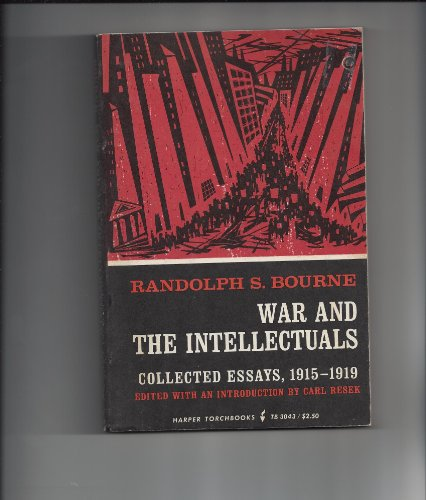 9780061330438: War and the Intellectuals (Torchbooks)