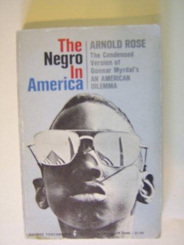 9780061330483: Negro in America (Torchbooks)