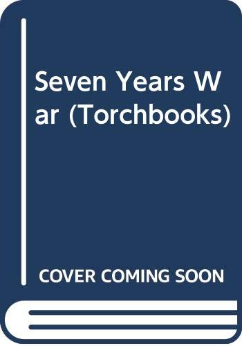 The Seven Years War : a narrative: Parkman, Francis
