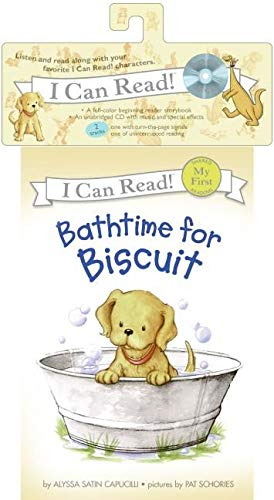 9780061335389: Bathtime for Biscuit Book and CD (My First I Can Read)