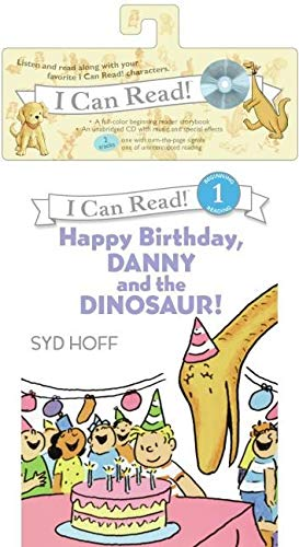 9780061335396: Happy Birthday, Danny and the Dinosaur! [With CD (Audio)] (I Can Read! - Level 1 (Quality))