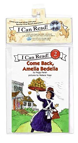 Come Back, Amelia Bedelia Book and CD (I Can Read Book 2): Parish, Peggy