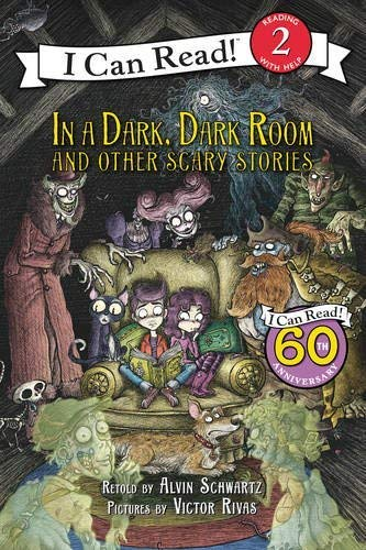 9780061336133: In a Dark, Dark Room and Other Scary Stories [With CD] (I Can Read Books: Level 2)