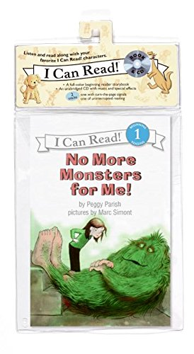 9780061336140: No More Monsters for Me! Book and CD (I Can Read Book 1)