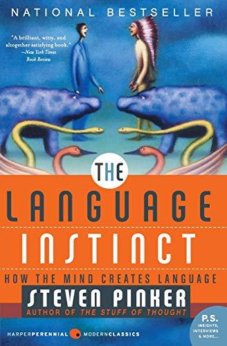9780061336461: The Language Instinct: How the Mind Creates Language (P.S.)