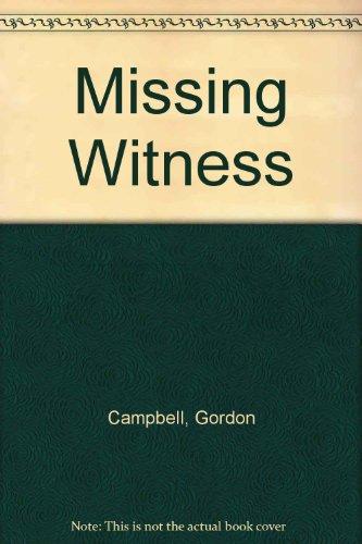 9780061337529: Missing Witness