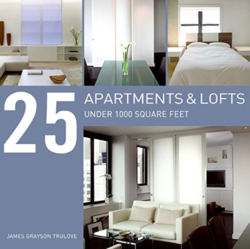 9780061340208: 25 Apartments and Lofts Under 1000 Square Feet
