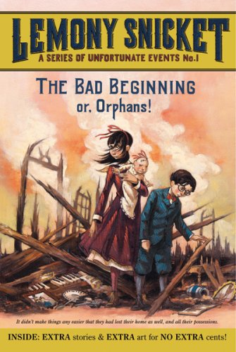9780061340550: A Series of Unfortunate Events: The Bad Beginning or Orphans!/The Reptile Room or Murder!/The Wide Window or Disappearance!