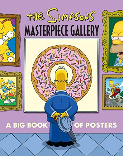 9780061341038: The Simpsons Masterpiece Gallery: A Big Book of Posters