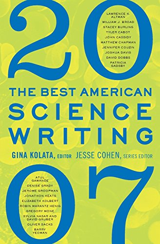 9780061345777: The Best American Science Writing 2007