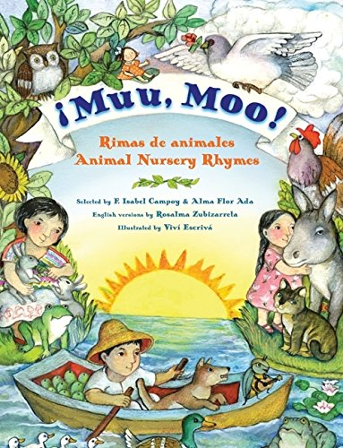 9780061346132: Muu, Moo!: Rimas de Animales/Animal Nursery Rhymes