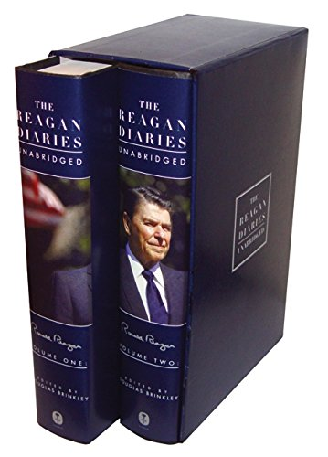 9780061346255: The Reagan Diaries Unabridged: Volume 1: January 1981-October 1985 Volume 2: November 1985-January 1989