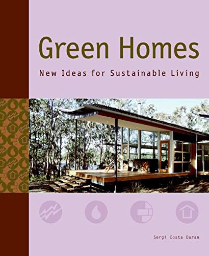 9780061348266: Green Homes: New Ideas for Sustainable Living