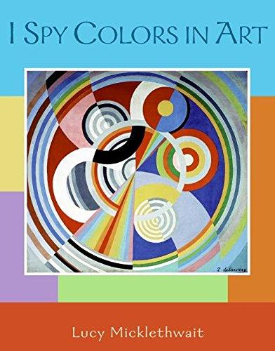 9780061348372: I Spy Colors in Art