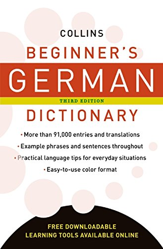 9780061349638: Collins Beginner's German Dictionary, 3rd Edition