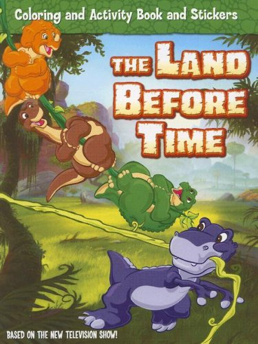 9780061353024: The Land Before Time: Coloring and Activity Book and Stickers (Land Before Time (Harperentertainment))