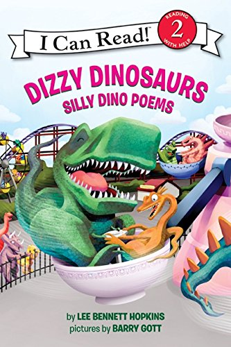 9780061358418: Dizzy Dinosaurs: Silly Dino Poems (I Can Read Books: Level 2)
