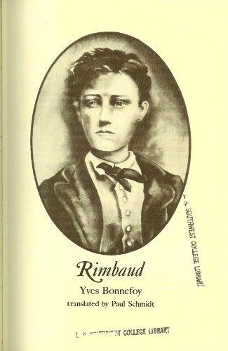 Rimbaud: Yves Bonnefoy; Paul
