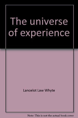 9780061361432: The universe of experience: A world view beyond science and religion (Harper torchbooks)