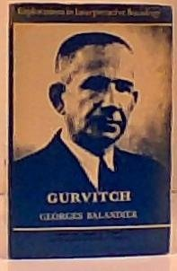 9780061361715: Gurvitch (Explorations in interpretative sociology)