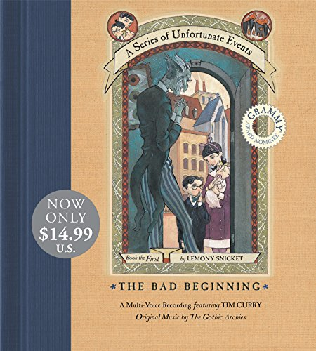 9780061365331: Bad Beginning, the (Series of Unfortunate Events (HarperCollins Audio))