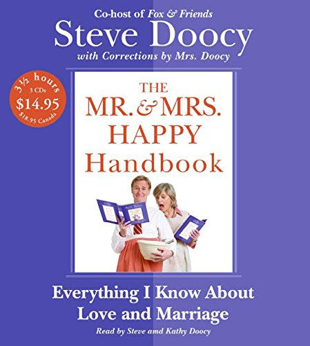 9780061374098: Mr. & Mrs. Happy Handbook Low Price CD: Everything I Know About Love and Marriage (with corrections by Mrs. Doocy)