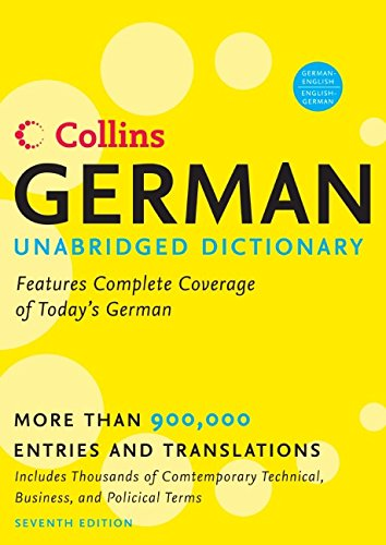 9780061374906: Collins German Unabridged Dictionary, 7th Edition (Harpercollins Unabridged Dictionaries)