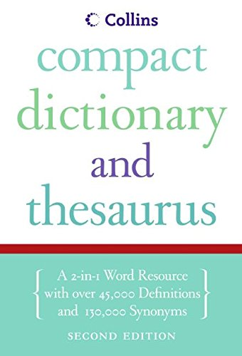 9780061374913: Collins Compact Dictionary & Thesaurus
