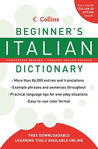 9780061374944: Collins Beginner's Italian Dictionary, 2nd Edition (Collins Language)