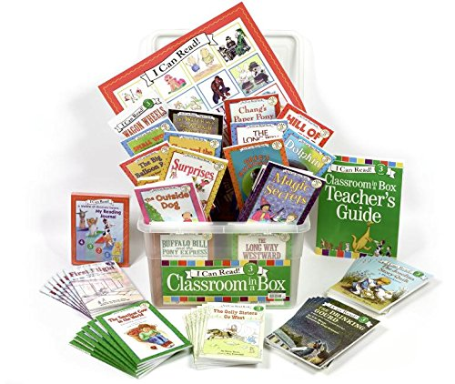 9780061375705: I Can Read Classroom in a Box Level 3 (I Can Read, Reading Alone 3)