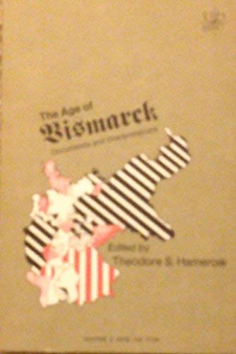 9780061387913: Age of Bismarck: Documents and Interpretations (Documentary history of Western civilization)