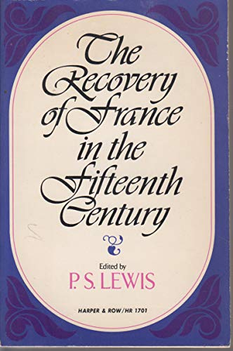 9780061389238: Recovery of France in the Fifteenth Century (Torchbooks)