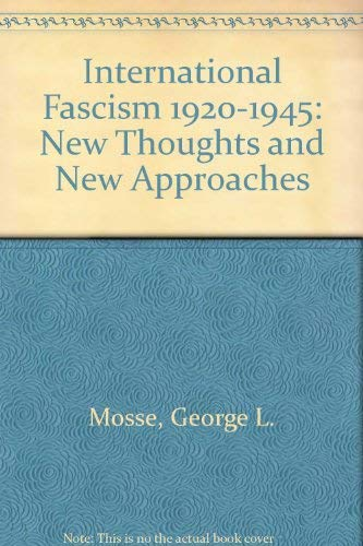9780061389559: International Fascism 1920-1945: New Thoughts and New Approaches
