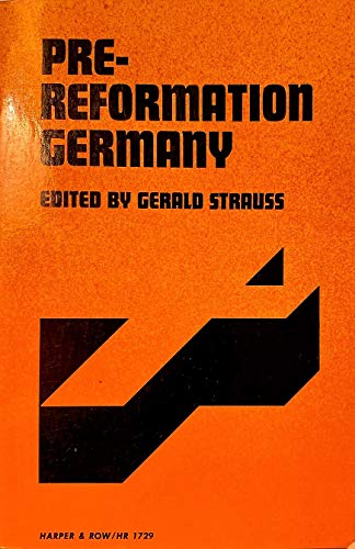 9780061394874: Pre-Reformation Germany (Torchbooks)