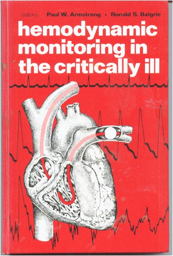 9780061402685: Haemodynamic Monitoring in the Critically Ill