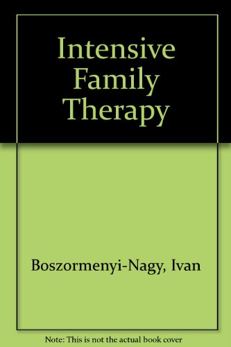 9780061405204: Intensive Family Therapy