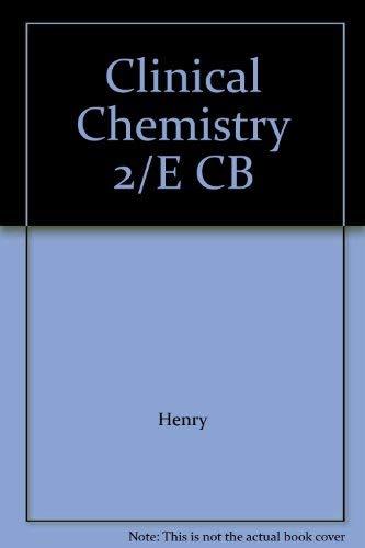 9780061411816: Clinical Chemistry 2/E CB
