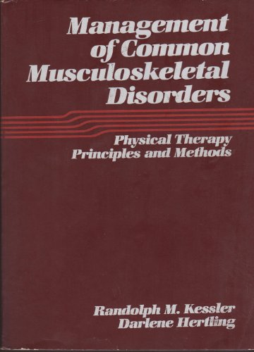 9780061414299: Management of Common Muscular Skeletal Disorders