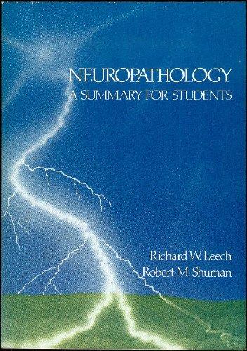 9780061415265: Neuropathology: A Summary for Students