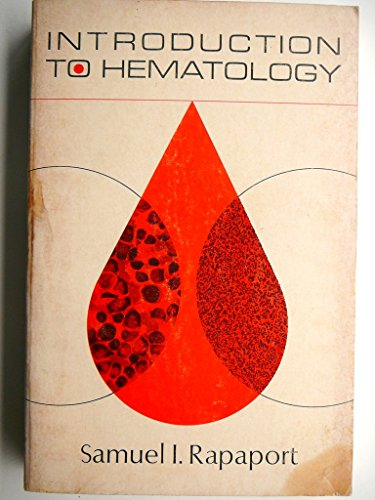 9780061422324: Introduction to Hematology