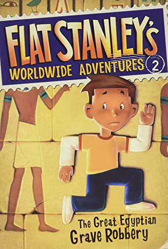 9780061429927: Flat Stanley's Worldwide Adventures #2: The Great Egyptian Grave Robbery